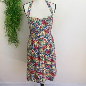 Anthropologie Girls From Savoy Garden Party Dress